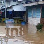 Foto: Fuertes lluvias azotan al departamento de Río San Juan / TN8