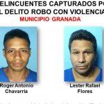 Foto: Detienen a 12 delincuentes en Granada / PN