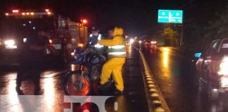 Cuantiosos daños en accidente de tránsito en las esquinas carretera sur