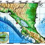Foto: Gráfico sobre el temblor en Nicaragua este 12 de julio