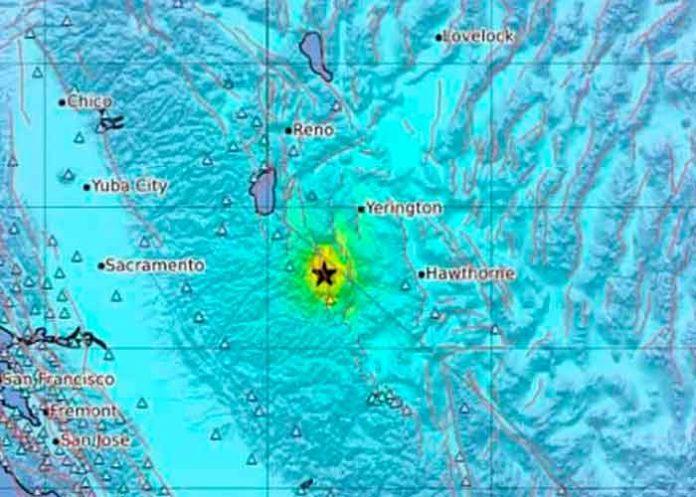 Estados unidos, california, Servicio Geológico, terremoto,