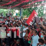 Tipitapa celebra el 42/19 con alegre caravana