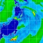 La tormenta tropical Nepartak toca tierra en el norte de Japón / FOTO / Twitter