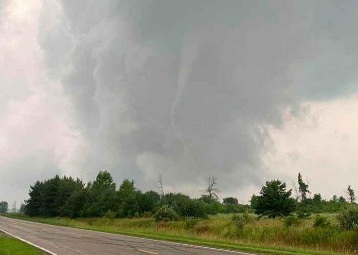 Una serie de tornados golpean el estado de Míchigan (EE.UU.) / FOTO / Instagram smittynkittyn