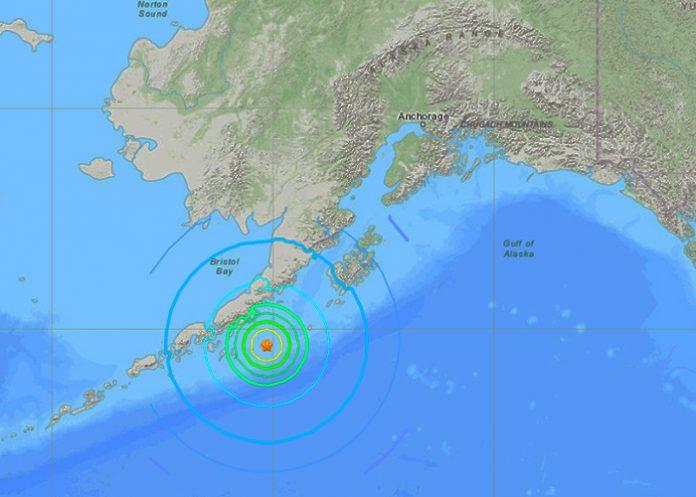 Alerta de tsunami tras un sismo de magnitud 7,3 frente a las costas de Alaska / FOTO / USGS