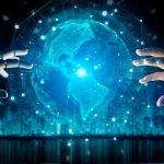 universo, rostro, inteligencia, artificial,