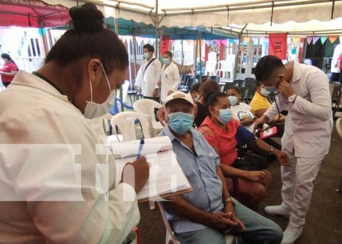 Jornada de aplicación de la vacuna contra el COVID-19 en Siuna
