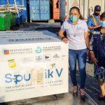 Lote de vacunas que llegan a Nicaragua gracias a la cooperación de Rusia