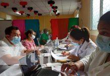 Jornada de vacunación en Río San Juan