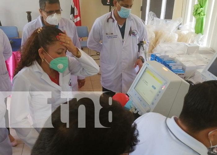 Foto: Hospital de Boaco recibe ventiladores  / TN8