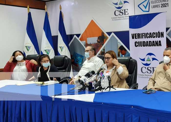 Anuncio del CSE sobre proceso de verificación ciudadana