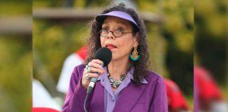 Vicepresidenta de Nicaragua en el acto 42/19