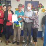 Familia del barrio Benedicto Valverde en Managua, recibe vivienda solidaria