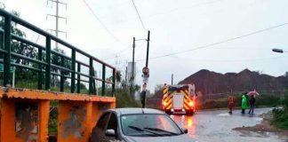 Se reportan inundaciones en Zapopan-Guadalajara, México