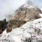 ciencia, italia, glaciar, derretimiento, altas temperaturas