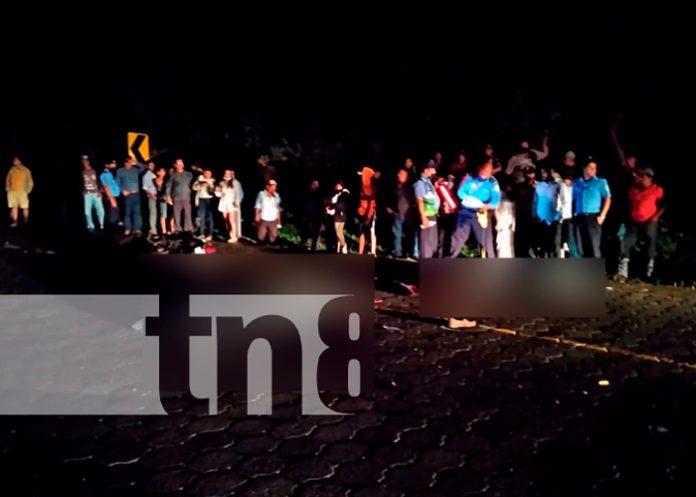 nicaragua, accidente, exceso de velocidad, fallecidos