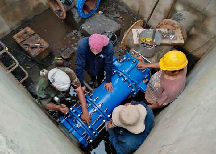 nicaragua, enacal,  agua potable, altamira, abastecimiento