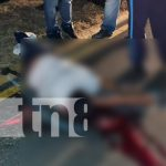 nicaragua, managua, accidente de transito, fallecido, moto,