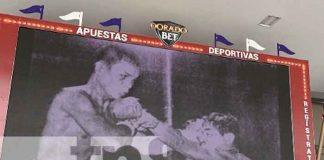 """Nicaragua rinde homenaje a la leyenda del Boxeo, """"El ratón"""" Mojica"""