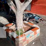 nicaragua, managua, muerte, colonia Máximo Jerez, motociclista,