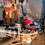 nicaragua, juigalpa, accidente de transito, motociclista,
