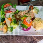 nicaragua, managua, puerto salvador allende, restaurante boleros,