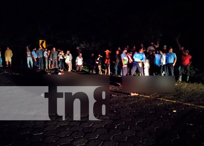 nicaragua, matagalpa, accidente de transito, fallecido,