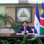 nicaragua, embajadora, namibia, cartas credenciales, presentacion