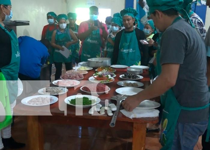 nicaragua, isla de ometepe, cocina, inatec, intur,
