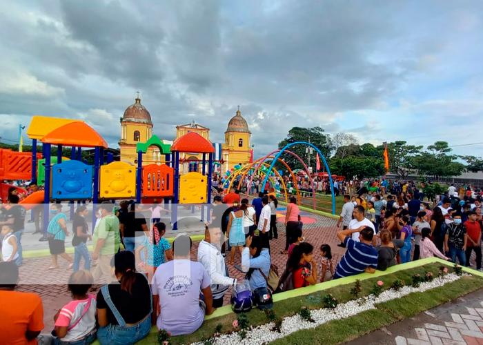 Concluye primera etapa del parque de La Concepción para las familias