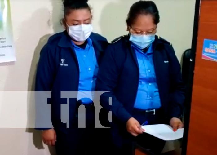 nicaragua, matagalpa, rescate, menor de edad, policia nacional,