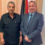 nicaragua, palestina. fuerza de seguridad, reunion, mensaje