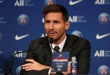 Presentación oficial de Messi como nuevo jugador del club PSG