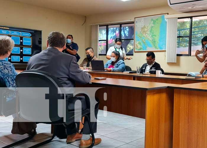 Cientifico ruso visita diferentes instituciones de Nicaragua