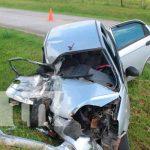 Conductora invade carril y deja una persona lesionada en Bluefields / FOTO / TN8