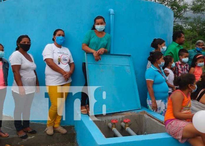 Proyecto de agua potable en Somoto
