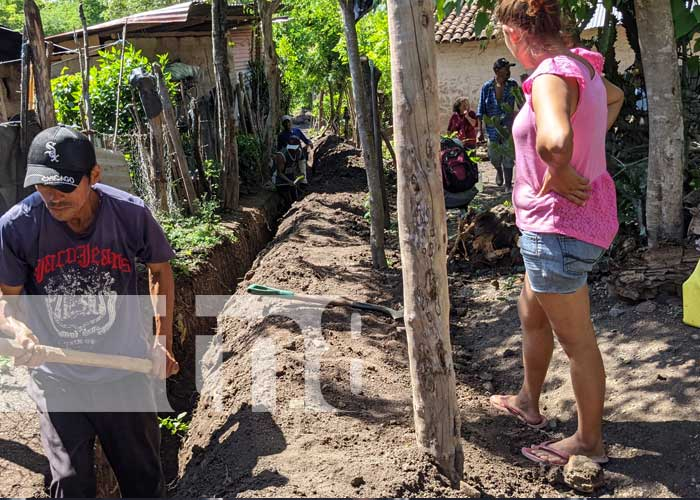 Foto: Entregarán proyecto de agua potable a familias en Palacagüina / TN8