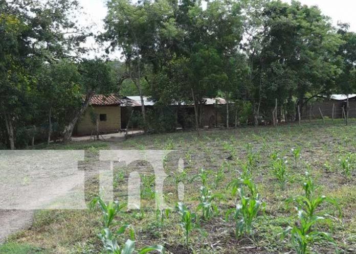 Comunidad Villa Austria, en Telpaneca, que pronto tendrá proyecto de agua potable