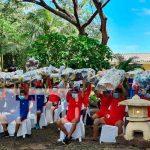 Entregan materiales deportivos a la juventud nicaragüenses