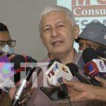 Francisco Bautista Lara, en entrevista por encuesta sobre intención de votos a favor del FSLN en Nicaragua