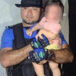 Policía rescata a niña que había desaparecido en Matagalpa