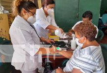 Atención a mujeres por parte del Hospital Bertha Calderón