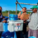 Gobierno de Nicaragua entrega materiales de pesca en Sandy Bay