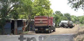 Construcción de Calles para el Pueblo en Managua