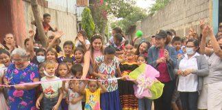 ALMA inauguró 10 nuevas cuadras en barrio Hilario Sánchez