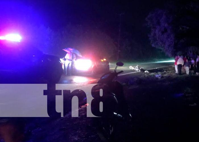 Accidente de tránsito en San Marcos