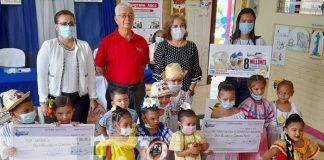 Lotería Nacional entrega utilidades de agosto a MIFAM e IND