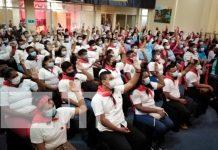 Congresistas del FSLN en el Caribe Sur ratifican al Presidente Daniel Ortega / FOTO / TN8