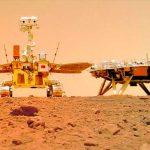 China publica imágenes a color de la superficie de Marte.