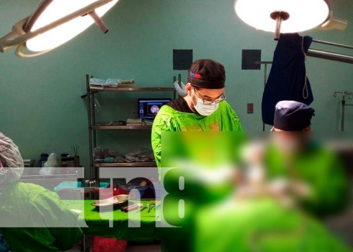 Realizan cirugía de corrección ósea en el Hospital Lenin Fonseca